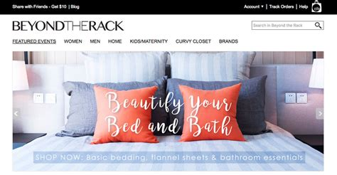 Beyond The Rack by Websites Like Beyond The Rack Canada Cosmecol
