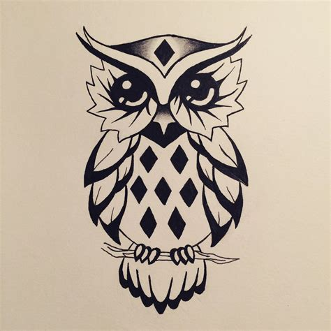 tattoo owl designs owl design by watergirl1996 on deviantart