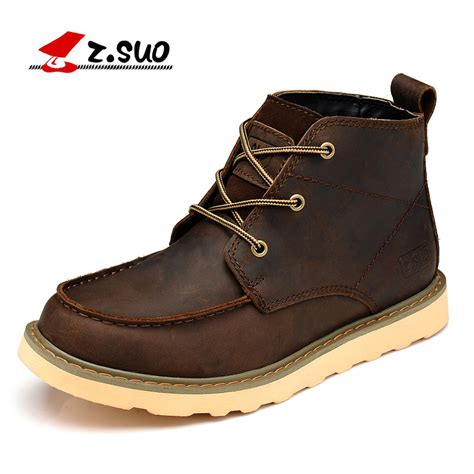 Z Suo z suo s boots leather boots qiu dong season