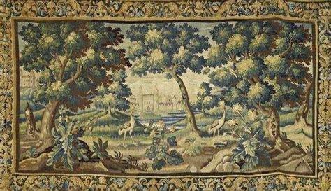 bordure de tapisserie aubusson tapisserie 224 d 233 cor d architectures et volatiles