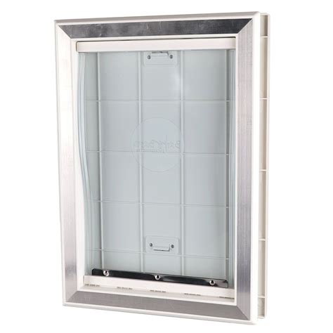 Exterior Doors With Pet Door Weather Pet Door Doors Exterior Cat Entry Large Dogs Heavy Duty New Ebay