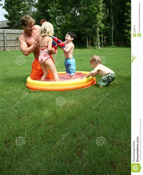 backyard fun pools backyard fun stock photo image 2632710