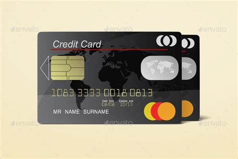 editable credit card template 39 realistic credit card mockups psd free design templates