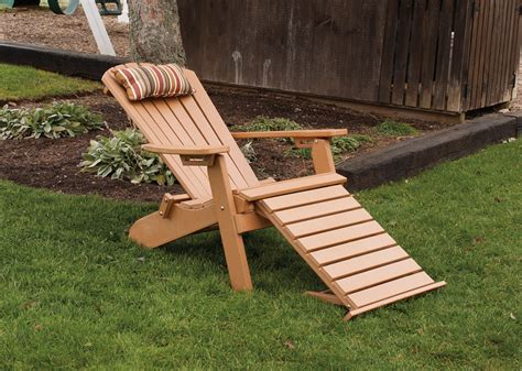 adirondack chair with pull out ottoman item 883 folding reclining w o 2330027270 o