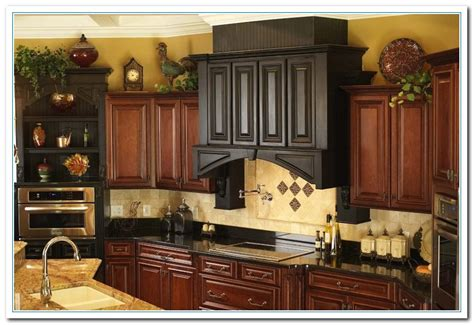 decorating above cabinets in kitchen pictures kitchen cabinets decor quicua com