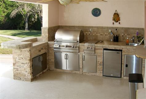 outdoor kitchen florida outdoor bbq kitchen with stacked florida outdoor