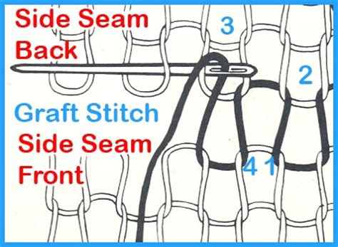 knit stitch diagram how to knit easty for season 12 dr who style