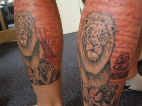 tattoo nation corpus lion and cub tattoo tattoo collections