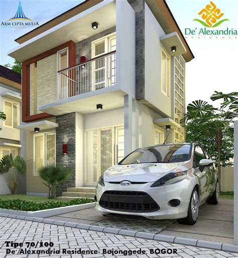 Cctv Rumah rumah 2 lantai syariah d alexandria residence rumah