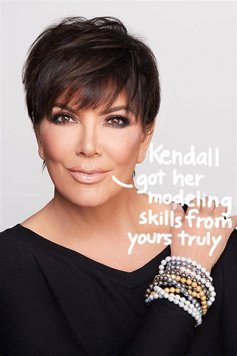 Kris Jenner Strikes A Sexy Pose To Model Her New Jewelry