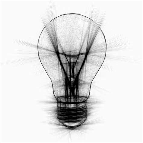 free illustration light bulb light pencil abstract