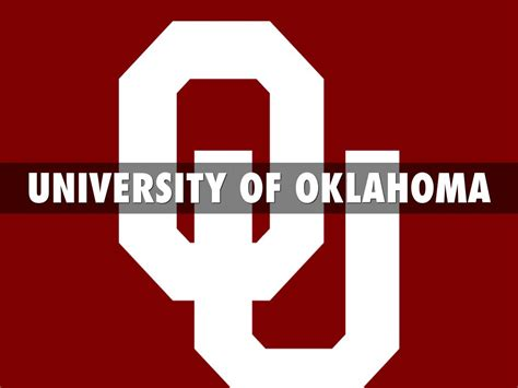 Apply For Student Ou Oklahoma By Nick Petrini