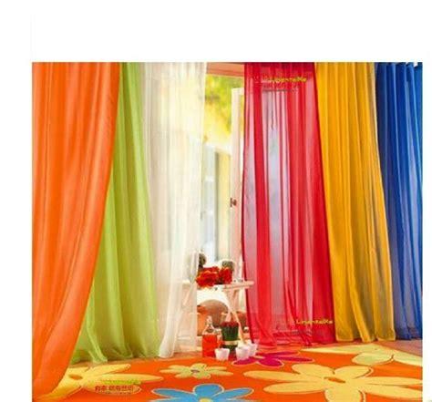 rainbow sheer window panel curtains home alliance