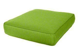 Outdoor Furniture Cushions 24 X 27 Seating Sunbrella Chair Cushion 24 Quot X