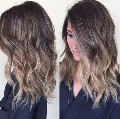 interview hairstyles for shoulder length hair 25 best shoulder length balayage ideas on pinterest