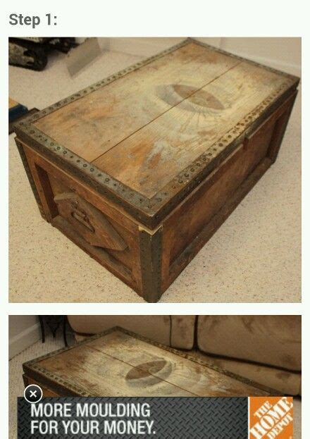 treasure chest coffee table treasure chest coffee table how to and diy
