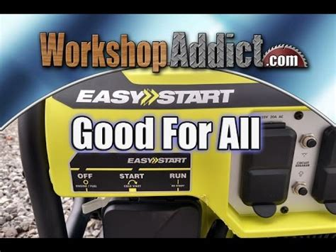 ryobi   watt propane powered generator review ryilp funnydogtv