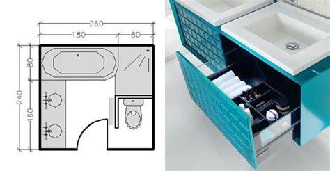 Mini Salle De Bain 2m2 1952 am 233 nagement salle de bains 28 plans pour une