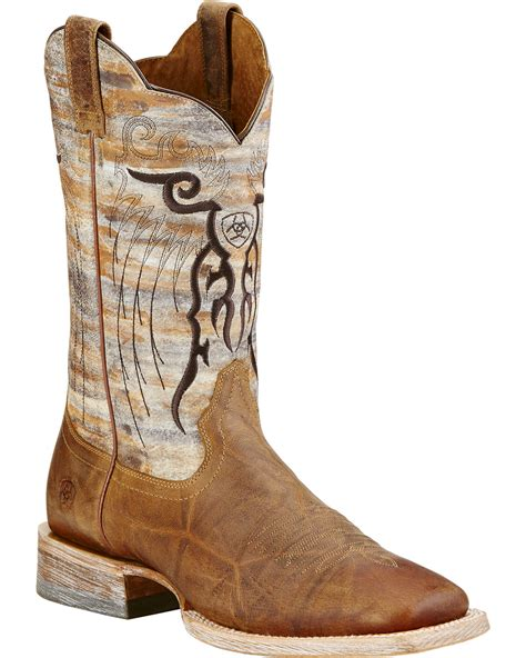 toe cowboy boots for ariat mesteno cowboy boots square toe country
