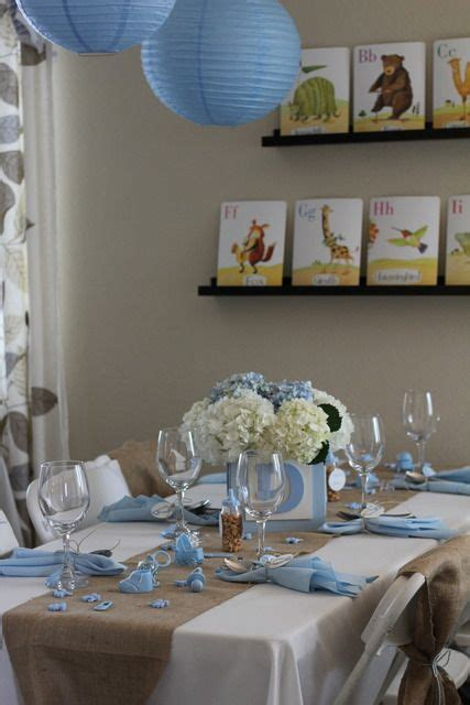 shabby chic boy baby shower party ideas boy babies