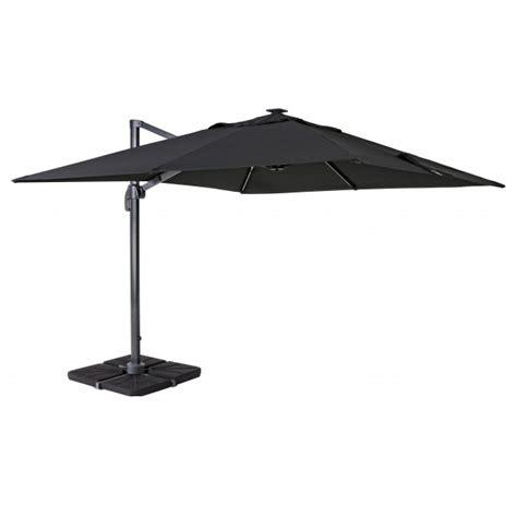 ombrelloni da terrazzo rettangolari vivereverde stintino 300x300 c led a braccio laterale