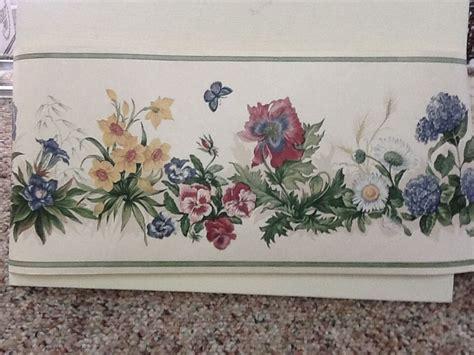 flower wallpaper ebay floral wallpaper border ebay