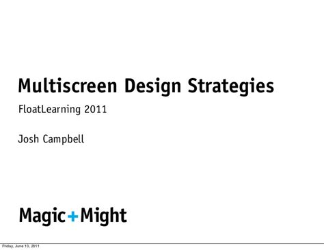 layout strategy slideshare multiscreen design strategies