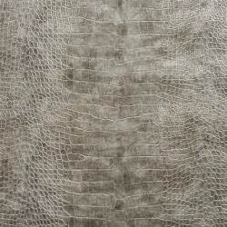 Faux Leather Upholstery Material Gray Metallic Alligator Faux Leather Vinyl By The Yard