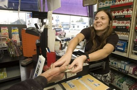 Gas Station Cashier gas station cashiers are humans gasbuddy gas prices