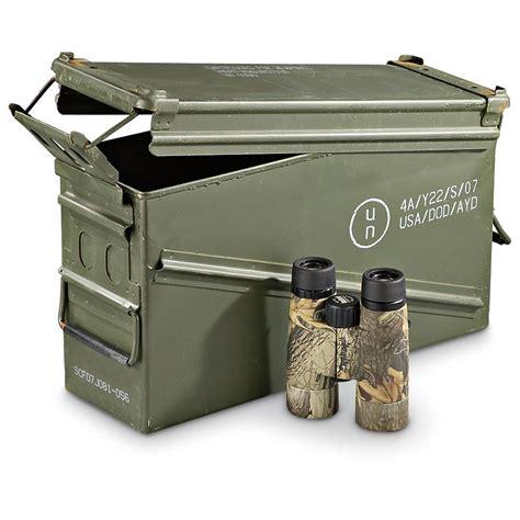 ammo storage u s military surplus pa120 40mm ammo can used 164783