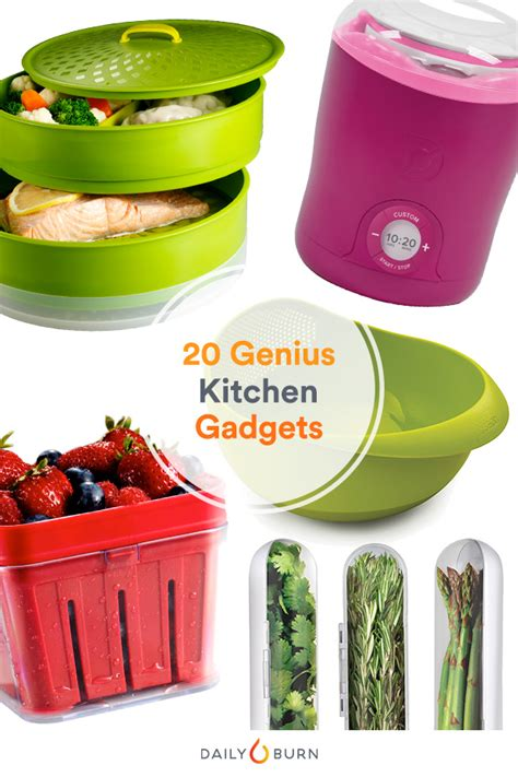 top 17 healthy kitchen gadgets 20 kitchen gadgets to make healthy eating easy daily burn