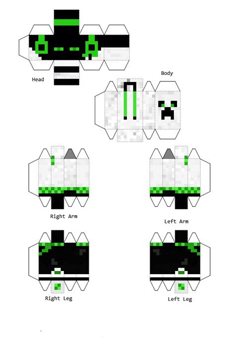 Minecraft Papercraft Boy - the gallery for gt minecraft papercraft skins