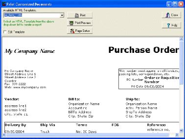 Solution Software Purchase Order Manager Software Solution Free Database Solution For Software Purchase Template