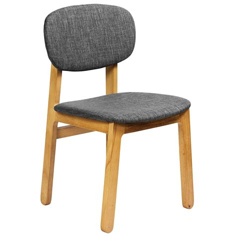Contemporary Oak Dining Chairs Ronde Modern White Oak Dining Chair Eurway Furniture