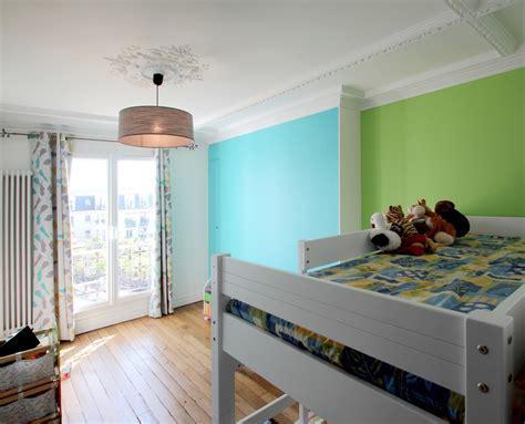 chambre bebe jaune et vert