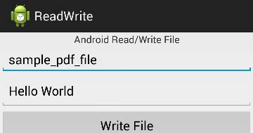 android tutorial read file zack tutorials android read and write pdf file using itext