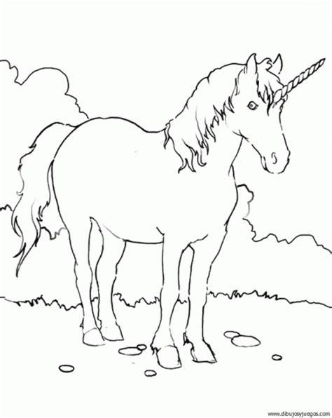 imagenes de unicornios infantiles para colorear dibujo de unicornio 021 dibujos y juegos para pintar y