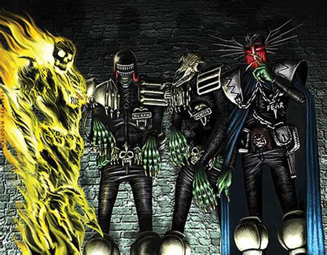dark judges wallpaper dark judges judge dredd wiki fandom powered by wikia