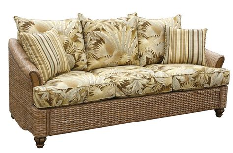 Wicker Sofa Sleeper by Rattan And Wicker Sofas And Sleeper Sofas Island And