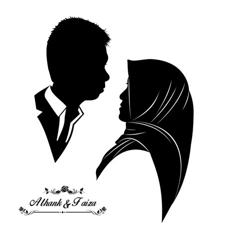 Wedding Siluet by Jual Siluet Desainsiluet