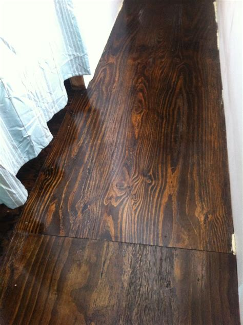 Stained Plywood Floor by Pin By Kristin Hayden Ko On For The Home