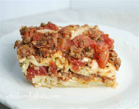 lasagna recipe dishmaps