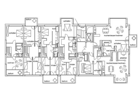 apartment blueprints baufeld 10 design by architecture and urbanism