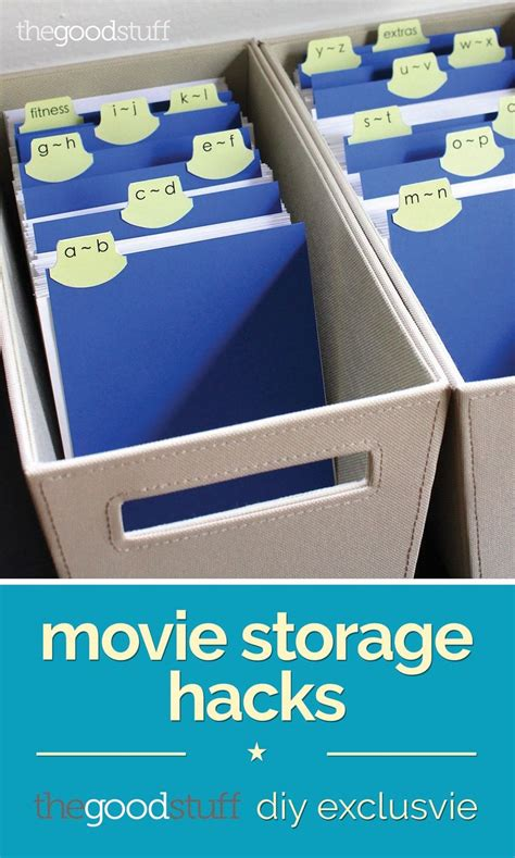 Hack Storage Movie | movie storage hacks diy exclusive storage totes and