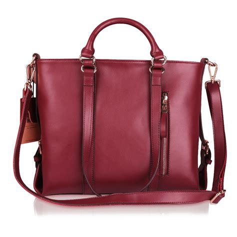 Cowhide Leather Handbags - kattee soft cowhide leather handbag shoulder