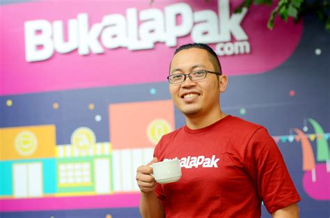 bukalapak investor achmad zaky good people bring good result entrepreneurhub