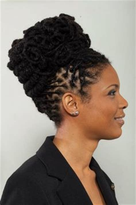 lock styles for women naturally high dread lock hairstyles on pinterest