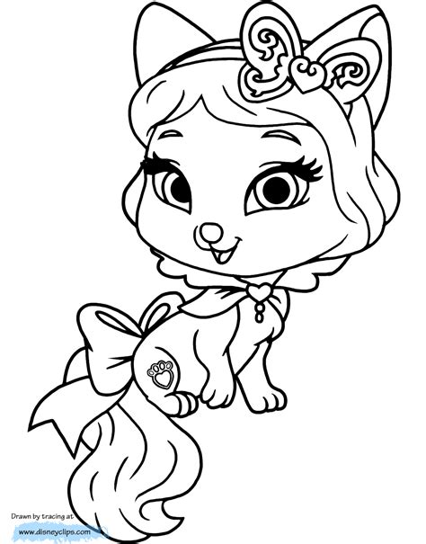 coloring pages palace pets disney palace pets printable coloring pages 3 disney