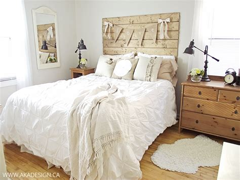 Wood Plank Headboard How To Make A Wood Plank Headboard