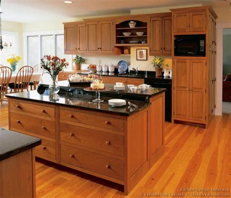 cherry cabinets with wood floors pictures of kitchens traditional light wood kitchen